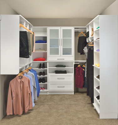 Woodtrac closet systems a vision dbr vendor for better for Woodtrac closets